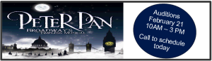 Peter Pan Banner website