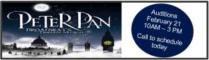 Peter Pan Banner website